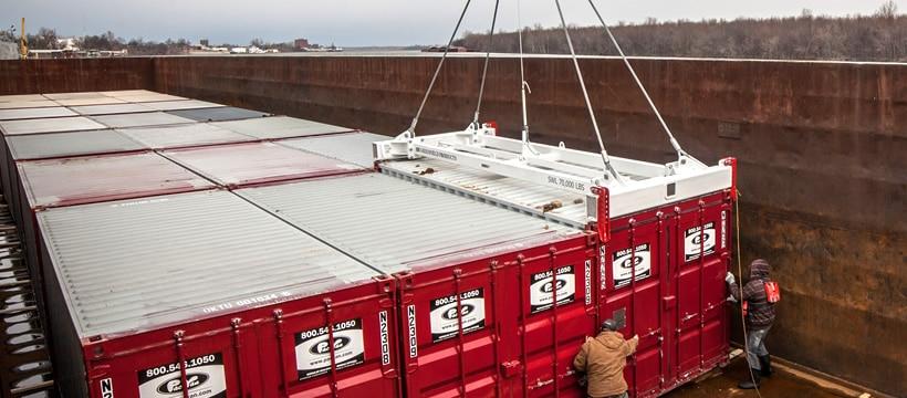 cargo spreader tec container asia pacific